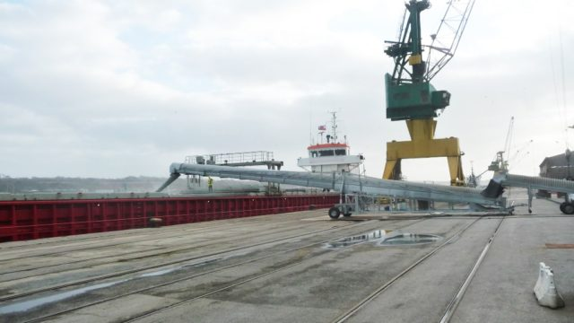 Ship loading