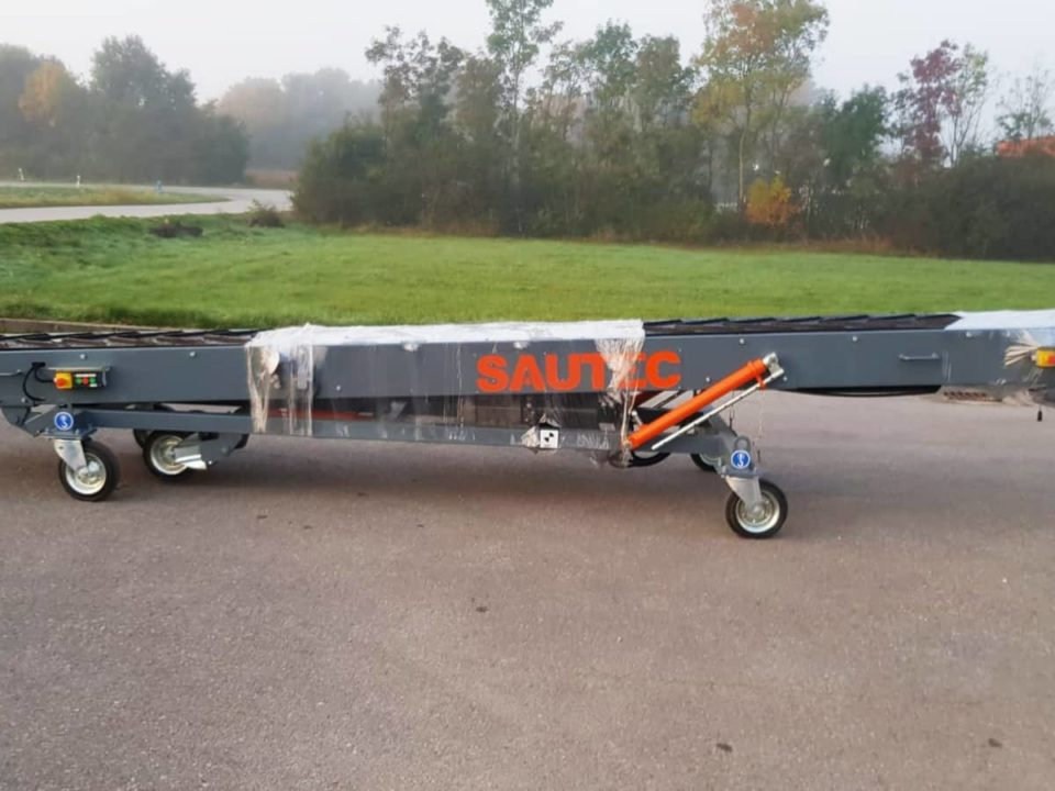 Band conveyor sautec for flat bag conveyors