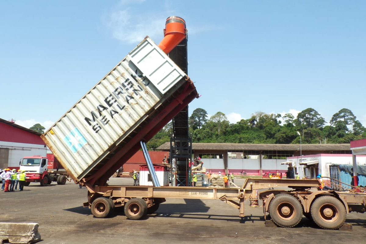Bulk loading of containers: several solutions to meet the needs of exporters.