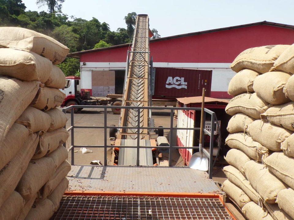 Sautec platform for bag cutting
