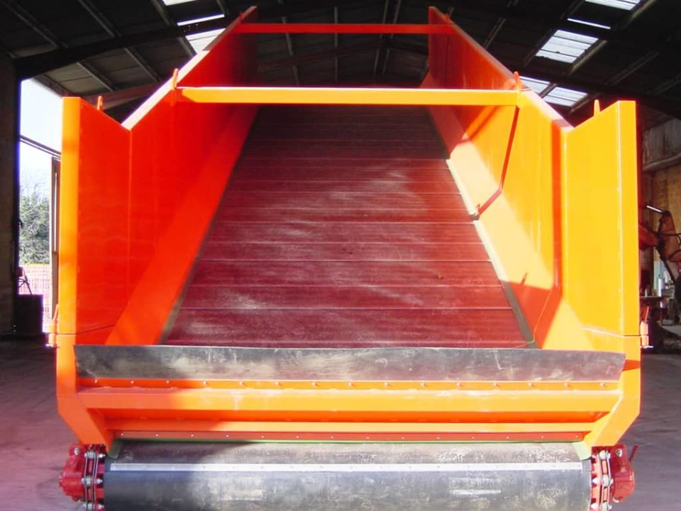 tailor-made unloading hopper - sautec