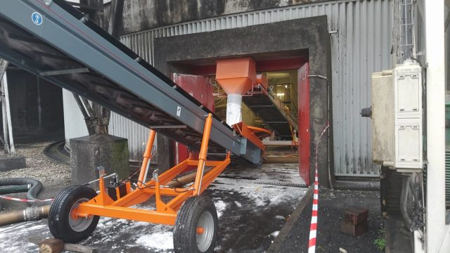 Sugar transfer during a silo cleaning operation. The case of Cristal Union.