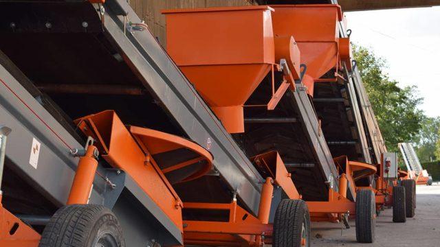 7 good reasons to rent your SAUTEC belt conveyor.